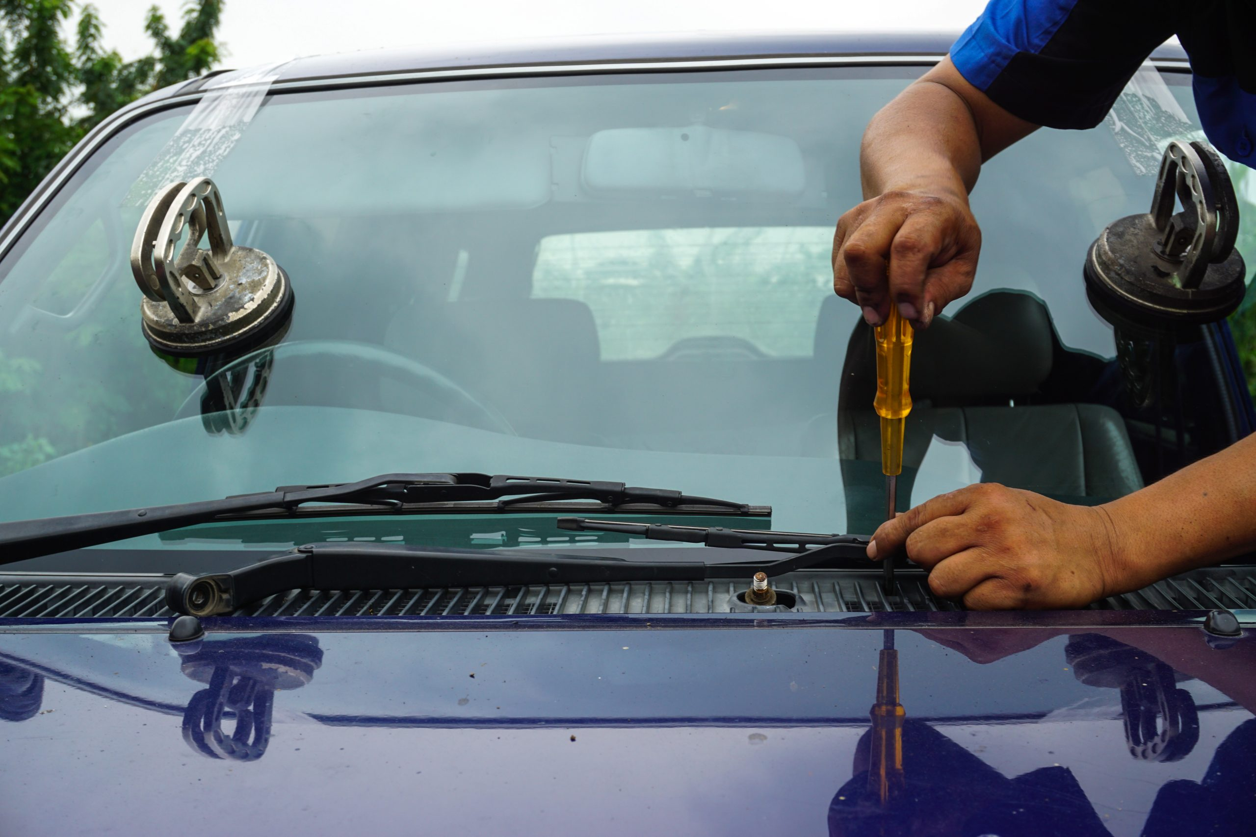 Auto Glass Replacement in Logan Township